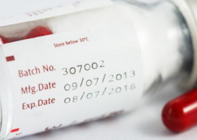 Hot Stamp Batch Code